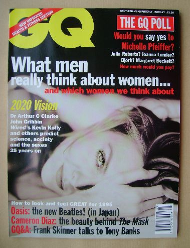 <!--1995-01-->British GQ magazine - January 1995