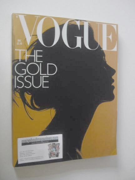 <!--2000-12-->British Vogue magazine - December 2000 - The Gold Issue (Kate