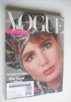 US Vogue magazine - November 1984