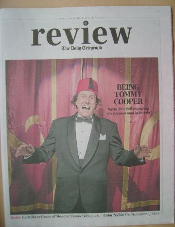 The Daily Telegraph Review newspaper supplement - 19 April 2014 - David Thr