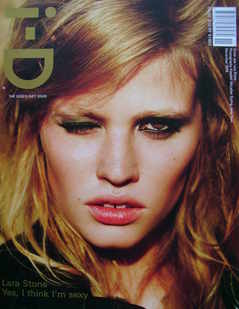 i-D magazine - Lara Stone cover (November 2008)
