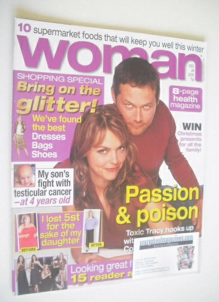 <!--2005-11-28-->Woman magazine - Kate Ford and Bill Ward cover (28 Novembe