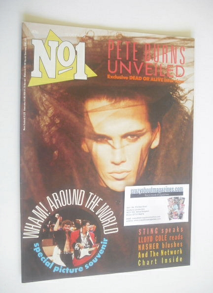 <!--1985-10-12-->No 1 Magazine - Pete Burns cover (12 October 1985)