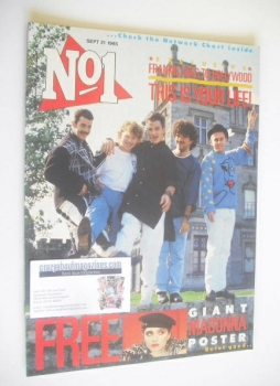 No 1 Magazine - Frankie Goes To Hollywood cover (21 September 1985)
