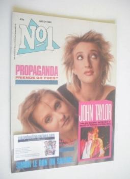 No 1 Magazine - Propaganda cover (24 August 1985)