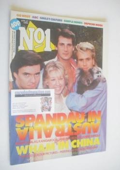 No 1 Magazine - Spandau Ballet cover (27 April 1985)