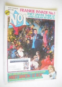 No 1 Magazine - Frankie Goes To Hollywood cover (3 November 1984)