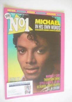 No 1 magazine - Michael Jackson cover (18 February 1984)