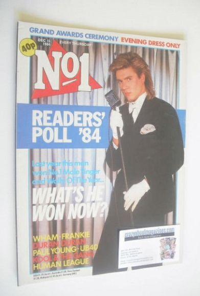 <!--1984-12-15-->No 1 magazine - Simon Le Bon cover (15 December 1984)