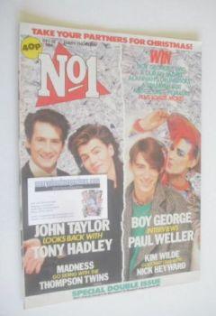 No 1 magazine - Partners For Christmas cover (22 December 1984)