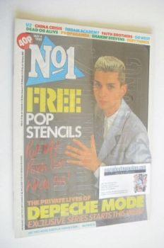No 1 magazine - Dave Gahan cover (4 May 1985)