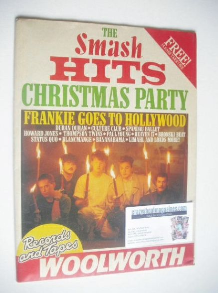 <!--1984-12-01-->Smash Hits magazine - Frankie Goes To Hollywood cover (Chr