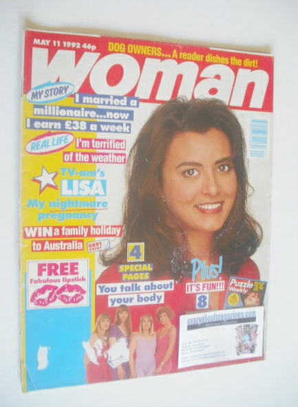 <!--1992-05-11-->Woman magazine (11 May 1992)