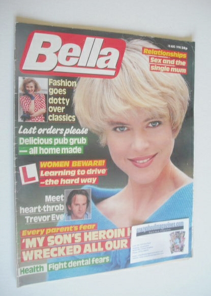 <!--1990-08-18-->Bella magazine - 18 August 1990