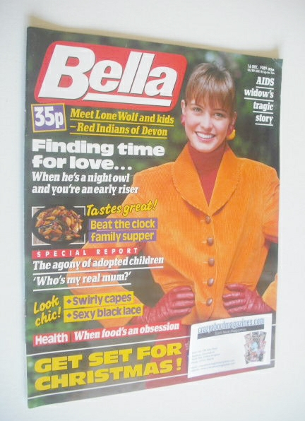 <!--1989-12-16-->Bella magazine - 16 December 1989