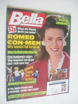 <!--1989-11-18-->Bella magazine - 18 November 1989