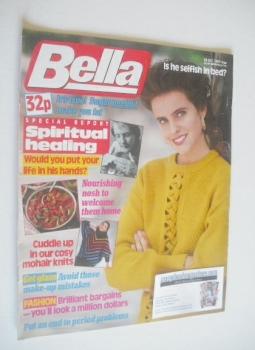 <!--1989-10-28-->Bella magazine - 28 October 1989