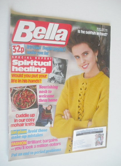 <!--1989-10-28-->Bella magazine - 28 October 1989