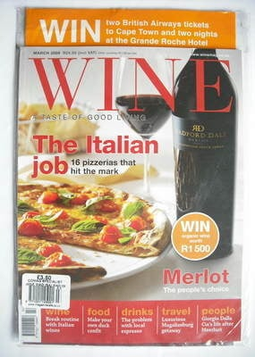 Wine magazine - March 2009