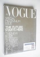 <!--1999-12-->British Vogue magazine - December 1999 - Special Millennium Issue