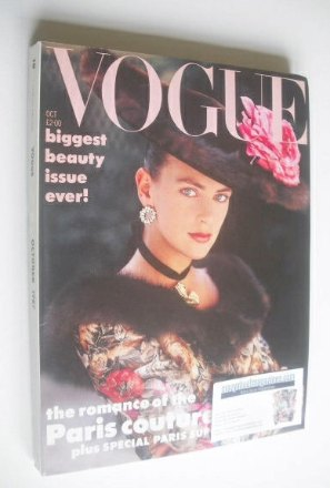 <!--1987-10-->British Vogue magazine - October 1987