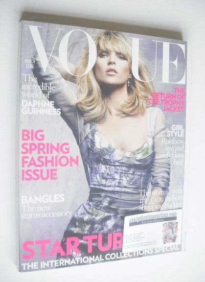 <!--2008-03-->British Vogue magazine - March 2008 - Kate Moss cover