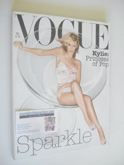 <!--2003-12-->British Vogue magazine - December 2003 - Kylie Minogue cover