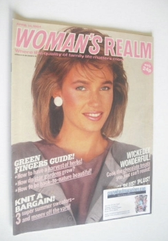 Woman's Realm magazine (14 April 1984)