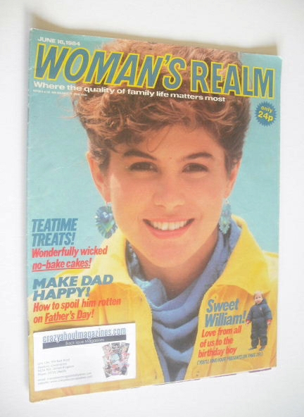 <!--1984-06-16-->Woman's Realm magazine (16 June 1984)