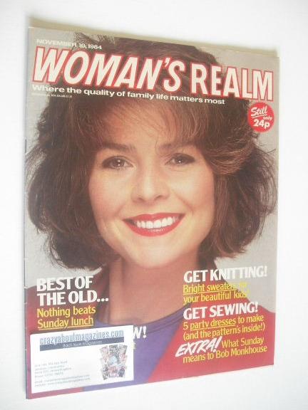 <!--1984-11-10-->Woman's Realm magazine (10 November 1984)
