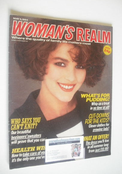 <!--1984-05-05-->Woman's Realm magazine (5 May 1984)