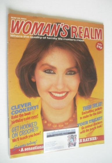<!--1984-05-26-->Woman's Realm magazine (26 May 1984)