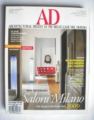 Architectural Digest magazine - April 2009