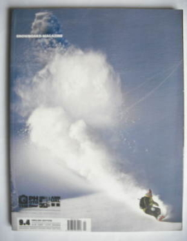 Snowboard magazine - February-April 2009
