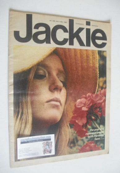 <!--1969-07-12-->Jackie magazine - 12 July 1969 (Issue 288)