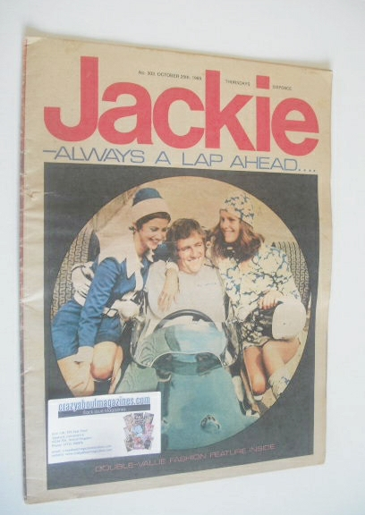 <!--1969-10-25-->Jackie magazine - 25 October 1969 (Issue 303)