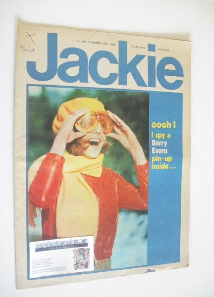 <!--1969-11-29-->Jackie magazine - 29 November 1969 (Issue 308)