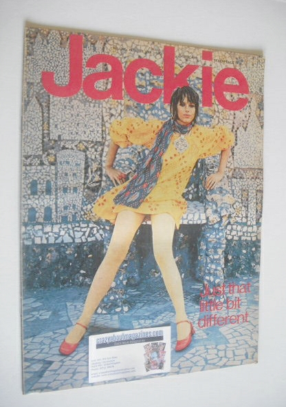 <!--1970-08-15-->Jackie magazine - 15 August 1970 (Issue 345)