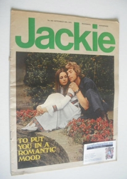 Jackie magazine - 19 September 1970 (Issue 350)