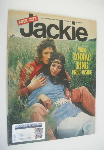 <!--1970-10-31-->Jackie magazine - 31 October 1970 (Issue 356)