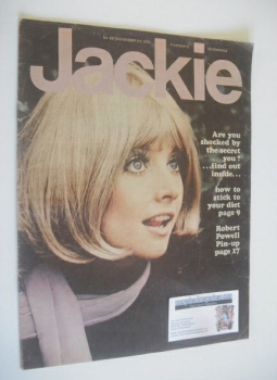 Jackie magazine - 7 November 1970 (Issue 357)