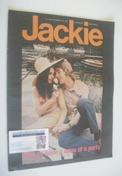 Jackie magazine - 14 November 1970 (Issue 358)