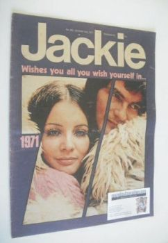 Jackie magazine - 2 January 1971 (Issue 365)
