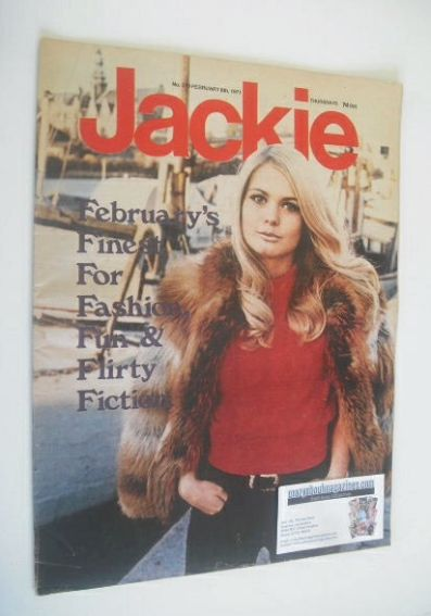 <!--1971-02-06-->Jackie magazine - 6 February 1971 (Issue 370)