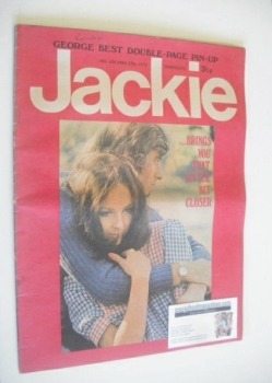Jackie magazine - 29 April 1972 (Issue 434)