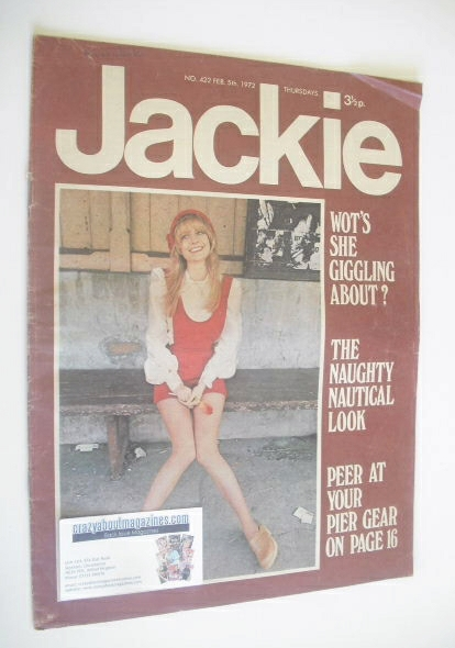 <!--1972-02-05-->Jackie magazine - 5 February 1972 (Issue 422)
