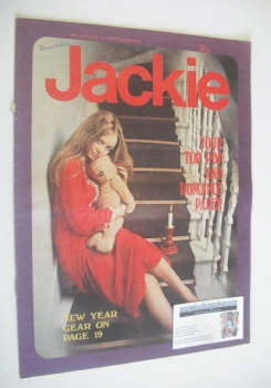 Jackie magazine - 1 January 1972 (Issue 417)