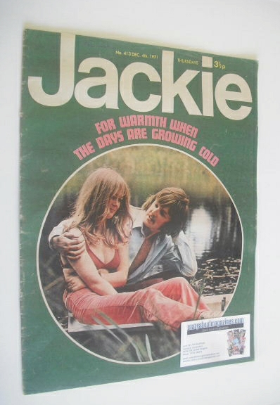 <!--1971-12-04-->Jackie magazine - 4 December 1971 (Issue 413)