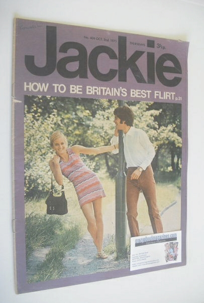 <!--1971-10-02-->Jackie magazine - 2 October 1971 (Issue 404)