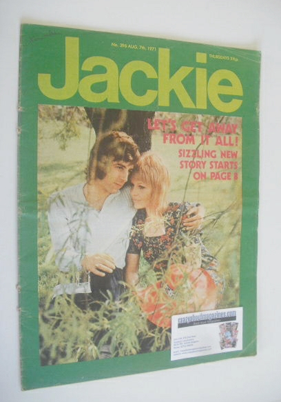 <!--1971-08-07-->Jackie magazine - 7 August 1971 (Issue 396)
